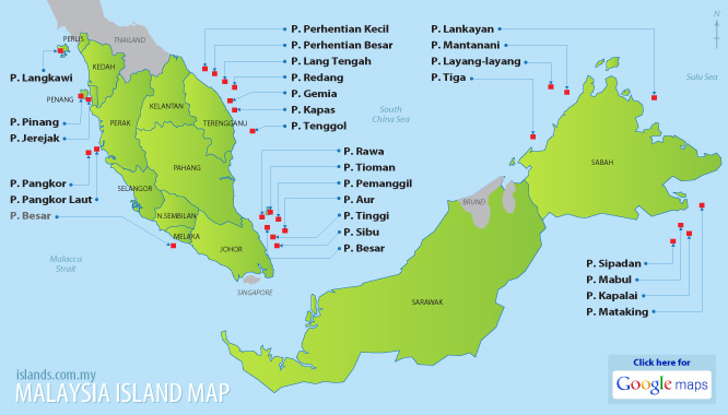 Related Keywords Suggestions For Malaysia Islands